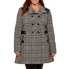Worthington Midweight Peacoat-Plus