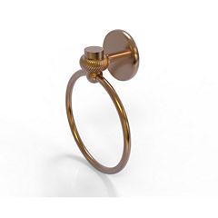 Allied Brass Satelite Orbit One With Twist Accent Towel Ring