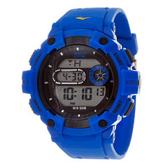 Everlast Blue and Black Digital Watch