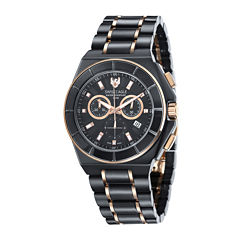 Swiss Eagle® Polar King Mens Two-Tone Strap Chronograph Watch SE-9053-44