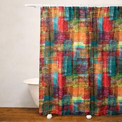 Crayola Etch No Liner Shower Curtain