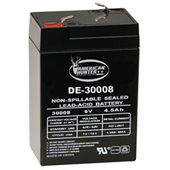 Amierican Hunter 6V 4.5 Amp Hr Rechargeable Battery