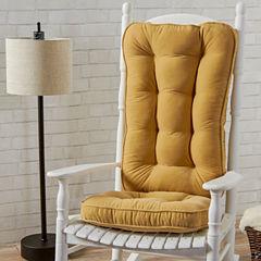 Jumbo Hyatt Rocking Chair Cushion Set