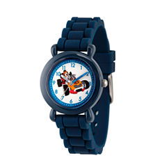 Disney Mickey Mouse Boys Blue Strap Watch-Wds000167