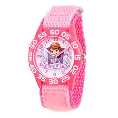 Disney Princess Sofia The First Girls Pink Strap Watch-Wds000266
