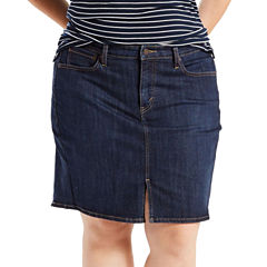 Levi's Denim Skirt-Plus
