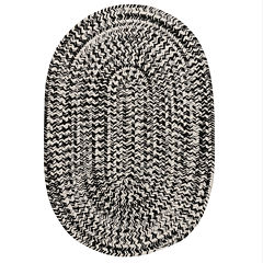 Colonial Mills Biscayne Tweed Braided Oval Reversible Rugs