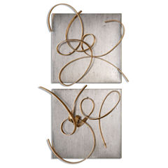 Set of 2 Harmony Wall Decoration