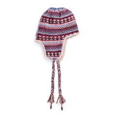 Muk Luks Bside Faux Fur Trim Trapper Hat