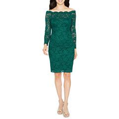 Decoded Long Sleeve Sheath Dress