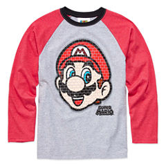Super Mario Graphic T-Shirt-Big Kid Boys