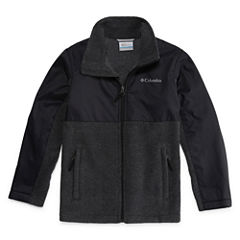 Columbia® Fort Rock Long-Sleeve Full-Zip Fleece Jacket - Boys 8-20
