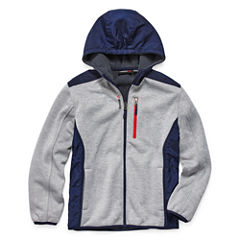 Reebok Midweight Sweater Jacket- Big Kid