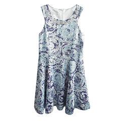 Marmellata Sleeveless Party Dress - Big Kid Girls