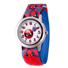 Emoji Marvel Boys Red Strap Watch-Wma000093