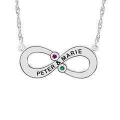 Womens Multi Color Multi Stone 10K Gold Pendant Necklace