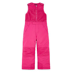 Vertical 9 Heavyweight Snow Bibs-Preschool Girls
