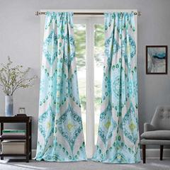 Barefoot Bungalow Cascade Rod-Pocket Curtain Panel