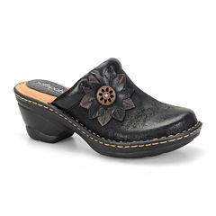 softspots® Lara Leather Mules
