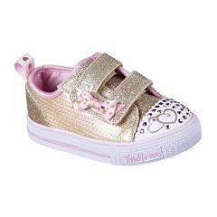 Skechers® Shuffles Itsy Bitsy Girls Shoes - Toddler