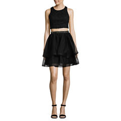 My Michelle Sleeveless 2 Pc. Party Dress-Juniors