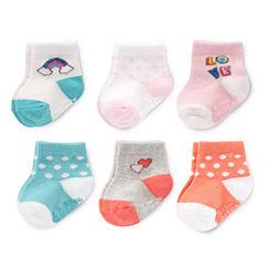 Carter's 6 Pair Crew Socks