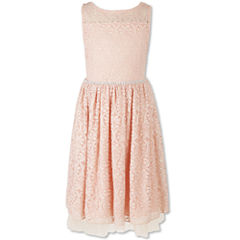 Speechless Sleeveless Party Dress - Girls' Plus
