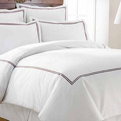 Pacific Coast Textiles 600TC Luxury Cotton Rich 3pc Duvet Set