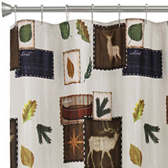 Bacova Exploring Critters Shower Curtain