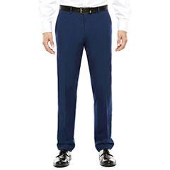 Men's JF J. Ferrar® Blue Stretch Flat-Front Super Slim-Fit Suit Pants