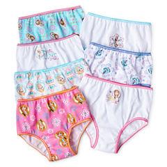 Disney Frozen 7-pk. Brief Panties - Girls 2t-6