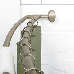 Zenna Home Shower Curtain Rod