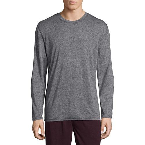 Van Heusen Long Sleeve Knit Pajama Top