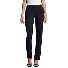 Liz Claiborne Classic Fit Secretly Slender Pull-On Pants