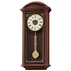 Seiko Wooden Chime Wall Clock with Pendulum Qxh065blh