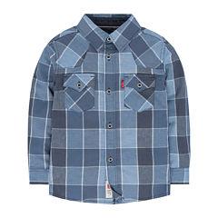 Levi's® Long-Sleeve Plaid Barstow Western Shirt - Toddler Boys 2t-4t