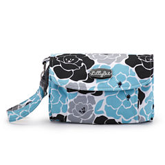 LillyBit Blue Floral Diaper Bag