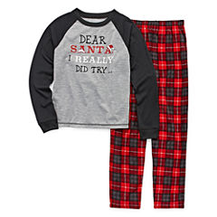 #FAMJAMS Dear Santa Family Pajama Set- Boys 4-20
