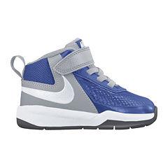 Nike® Team Hustle D7 Boys Basketball Shoes - Toddler