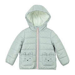 Carter's Midweight Dots Puffer Jacket - Girls-Preschool