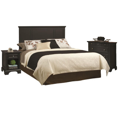Attractive Rockbridge Headboard, Nightstand And Chest