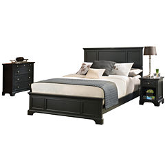 Rockbridge Bed, Nightstand and Chest