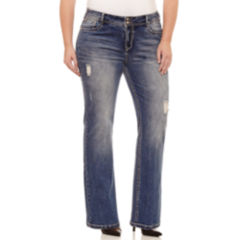 Juniors Plus Size Jeans for Women - JCPenney