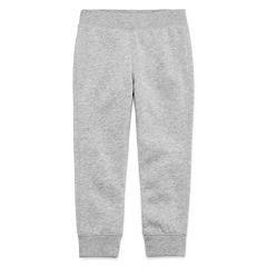 Okie Dokie® Fleece Pants - Toddler Boys 2t-5t