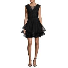 Speechless Sleeveless Dress Set-Juniors