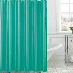 Jane Faux Silk Shower Curtain Shower Curtain Set