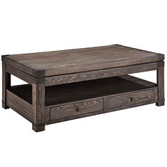 Signature Design by Ashley® Burladen 2-Drawer Lift Top Coffee Table