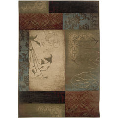 Covington Home Scrapbook Rectangular Rug