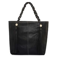 Boiyi Front Tassels Large Tote Bag