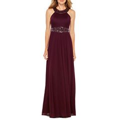 Decoded Sleeveless Evening Gown